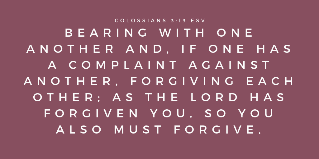 Verses about asking for forgiveness